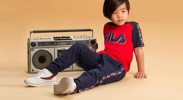 FILA Kids, Streetwear, Urban, Retro, Heritage, New collection, Style