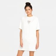 Fila Ada Tee Dress rainy-day snow-white