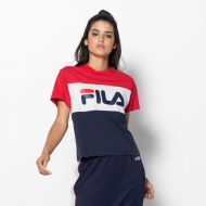 Fila Allison Tee black-iris-white-red dunkelblau