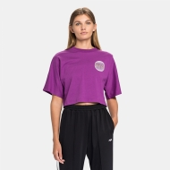 Fila Anemore Cropped Wide Tee sparkling-grape sparkling-grape