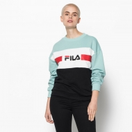 Fila Angela Crew Sweat 2.0 akquifer-white-black Bild 1