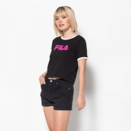 Fila Ashley Cropped Tee black Bild 1