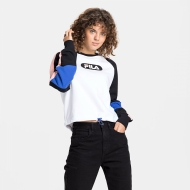 Fila Bane Blocked Crew black-white schwarz-weiß