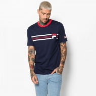 Fila Bruno 3 Cut And Sew Knit Panel Graphic Tee Bild 1