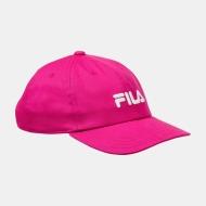 Fila Cap Linear Logo Kids pink-yarrow pink