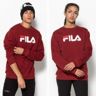 Fila Classic Pure Crew Sweat merlot-red dunkelrot
