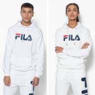 Fila Classic Pure Hoody Kangaroo white weiß