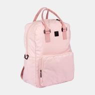 Fila Coated Canvas Convertible Mid Backpack coral-blush coralblush