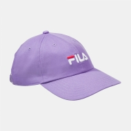 Fila Dad Cap Linear Strap Back flieder
