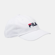 Fila Dad Cap Linear Strap Back weiß