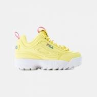 Fila Disruptor Kids QQ Wmn wax-yellow waxyellow