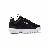 Fila Disruptor Low Wmn black-white schwarz