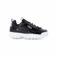 Fila Disruptor M Low Wmn black schwarz