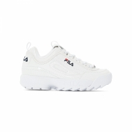 Fila Disruptor M Low Wmn shiny-white weiß