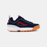 Fila Disruptor Men repeat-navy blau-rot