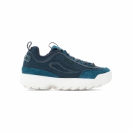 Fila Disruptor Satin Low Wmn atlantic-deep blau