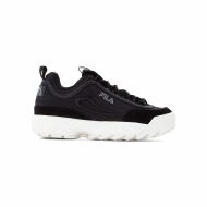 Fila Disruptor Satin Low Wmn black schwarz