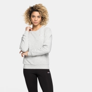 Fila Effie Crew Sweat lightgrey-melange hellgrau