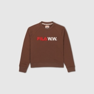 Fila Elena Oversized Crew Sweat Wmn potting-soil braun