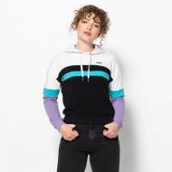 Fila Ella Hoody white-violet-blue schwarz-weiß