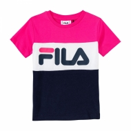 Fila Kids Classic Day Blocked Tee dunkelblau