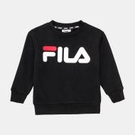 Fila Kids Classic Logo Crew Sweat schwarz
