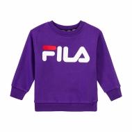 Fila Kids Classic Logo Crew Sweat lila