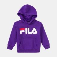 Fila Kids Classic Logo Hoody tillandsia-purple tillandsia-purple