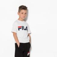 Fila Kids Classic Logo Tee weiß