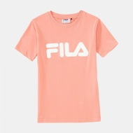 Fila Kids Classic Logo Tee lobster-bisque rosa