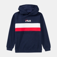 Fila Kids Ellanah Hoody black-iris-white-red Bild 1