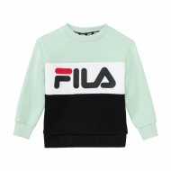 Fila Kids Night Blocked Crew grün