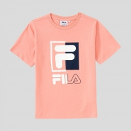 Fila Kids Saku Tee lobster-bisque rosa