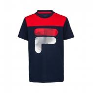Fila Kids Shirt Tim blau-rot