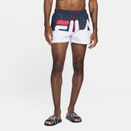 Fila Makoto Swim Shorts black-iris-white Bild 1
