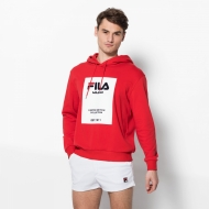Fila Milan Fashion Week Hoodie rot