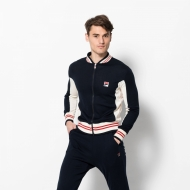 Fila Milan Fashion Week Stadium JKT Sweater navyblau