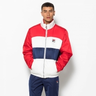 Fila Neo Colour Blocked Puffa Jacket rot