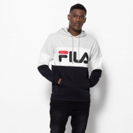 Fila Night Blocked Hoodie schwarz-grau