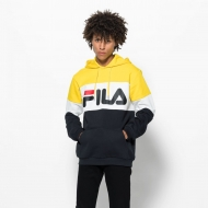 Fila Night Blocked Hoodie gelb