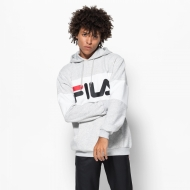 Fila Night Blocked Hoodie lightgrey-melange