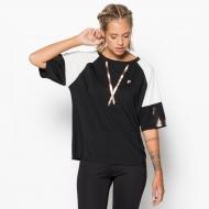 Fila Oversized T-Shirt schwarz-weiß
