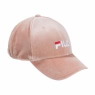 Fila Panel Cap Velvet Strap Back rosa