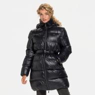 Fila Phyliss Puff Coat black schwarz
