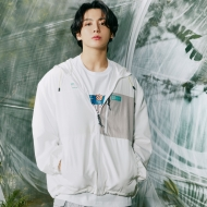 Fila Project 7 Packable Anorak offwhite Bild 1