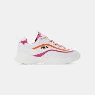 Fila Ray CB Low Wmn white-pink-mandarin Bild 1