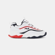Fila Ray F Low Men white-navy-red navyblau-rot