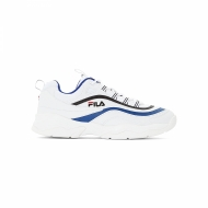 Fila Ray Low Men white electric-blue  blau