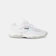 Fila Ray M Low Wmn white-silver weiß-silber