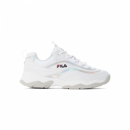 Fila Ray M Low Wmn white-silver silber